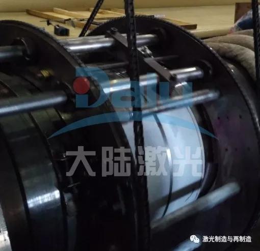 江苏望亭电厂 发电机接地碳刷轴颈139彩票手机客户端下载现场修复